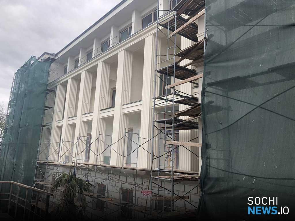 В дендропарке бывшего санатория «Красмашевский» в Сочи высадят около 1000 растений и кустарников